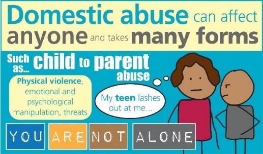 Domestic abuse logo